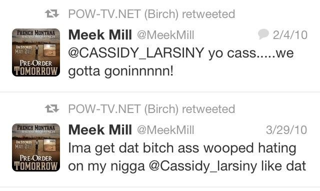 tweet meek