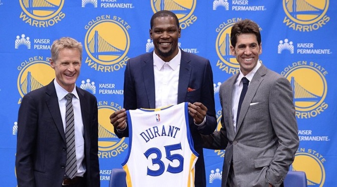 NBA | Kevin Durant Speaks On Joining The Warriors #W2TM