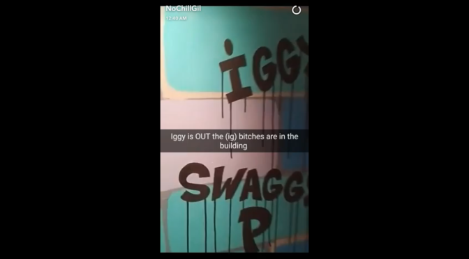 Clip Of The Week | Gilbert Arenas Roast Nick Young Via Snapchat #W2TM