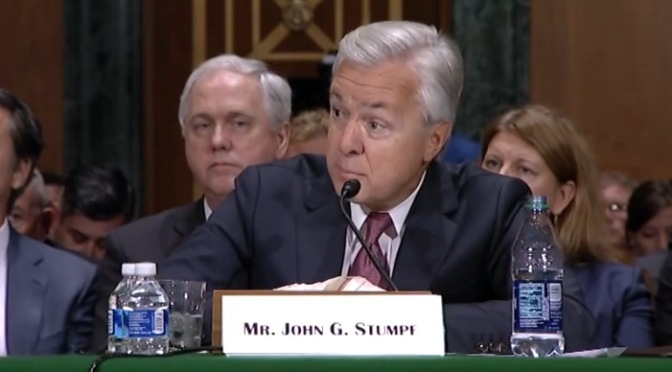 News | Senator Elizabeth Warren Rips Apart Wells Fargo Ceo John Stumpf At Banking Committee Hearing #W2TM