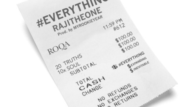 New Music |#Everything – @Rajitheone #W2TM