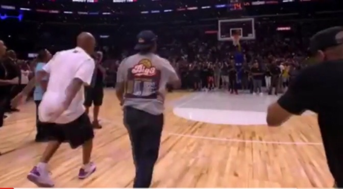 Video | BIG3 Lavar Ball Vs. Ice Cube 4 Point Challenge #W2TM