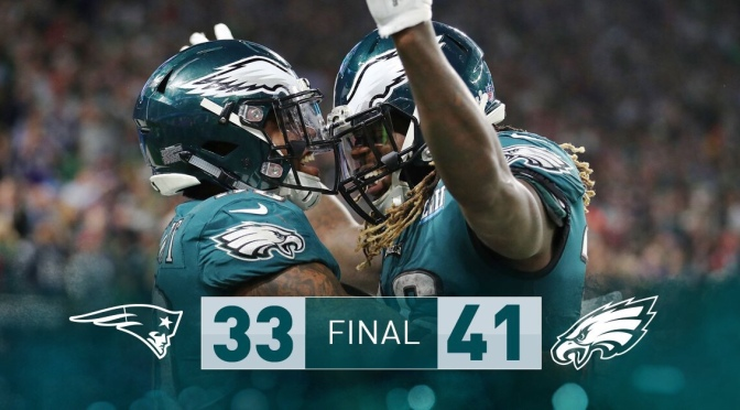 "NFL | SuperBowl 52 Champions ""Philadelphia Eagles"" #W2TM"