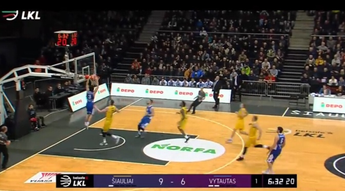 Euro Basketball | LaMelo x Liangelo Ball Highlights Vs. Siauliai 2-11-18 #W2TM