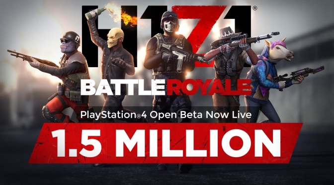 "Gaming | Check Out @H1Z1 ""Battle Royale"" Open Beta On @PlayStation ‬ Just Launched 5/22/18 & Already 1.5 Million Plus People Join In Did You? #W2TM"