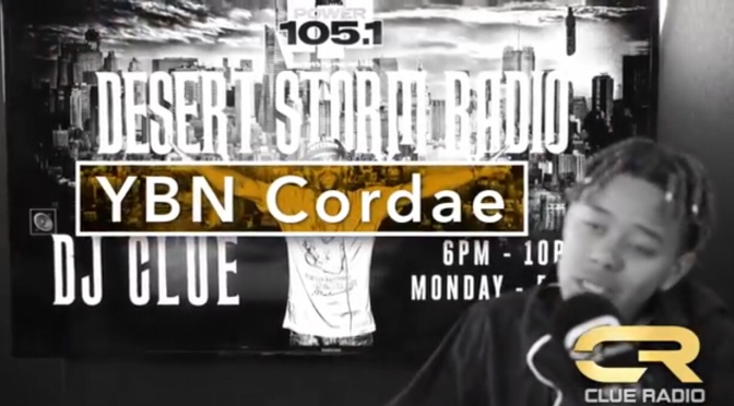 Freestyle | Clue Radio – @YBNCordae #W2TM