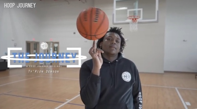 "Check Out This 15 Year Old 6'7 270 Pound Point Center  Ty'Rion Denson In The Web Series ""The Journey"" Via ‪@HoopJourneyHJ ‬#W2TM"