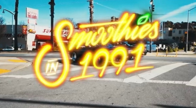 Video | Smoothies In 1991 – ‪@LarryJuneTFM ‬#W2TM