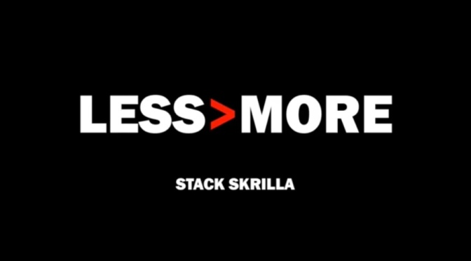 Stream Album| Less Is More – ‪@Stack_Skrilla x ‪@EL_Maryacho ‬#W2TM