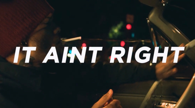 Video | It Ain't Right -‪ @lifeofarmstrong ‬#W2TM