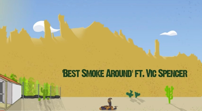 Video |Best Smoke 💨 Around (Animated By @AintThatCoreyG ) – @WhoIsJamalGasol x @VicSpencer #W2TM