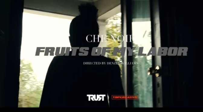Video | Fruits Of My Labor [ Produced @IamSpesh ] – @che_noir #W2TM