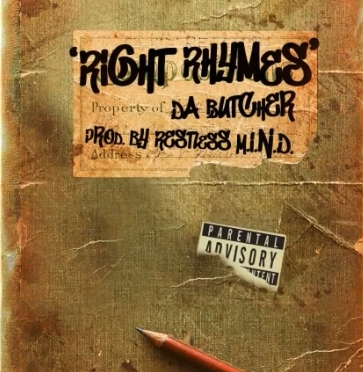 Music   Right Rhymes [ Produced By Restless M.I.N.D ] – @Da_Cleaver #W2TM