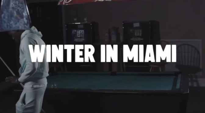 Video | Winter In Miami – @PaBuckxz #W2TM